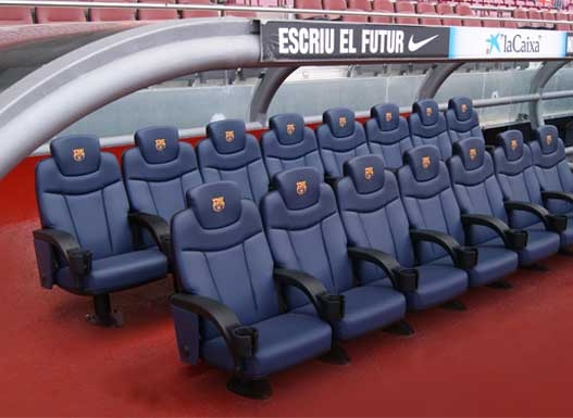 Sit Beside the Players Dugout